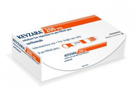 Kevzaza solution injectable